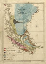 1840 Map Of The United States by Geological Map Of South America By Charles Darwin C 1840 Maps