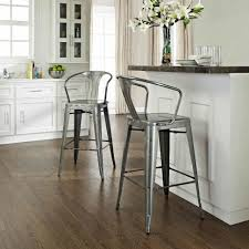 kitchen room design silver barstools counter stools walmart