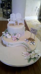 Cake Decorations Beach Theme - 394 best cakes beach images on pinterest beach weddings beach