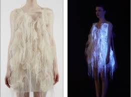 jellyfish dress hi tech jellyfish dress that glows and changes shape