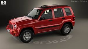 original jeep cherokee 360 view of jeep cherokee kj 2002 3d model hum3d store