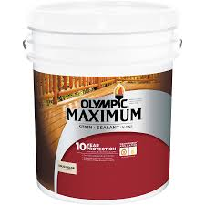 shop olympic maximum tintable base 2 solid exterior stain actual