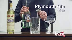 martini liquor now serving plymouth gin 50 50 martini youtube