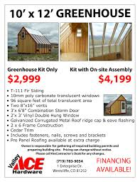 8 X 12 Greenhouse Kits Greenhouse Valley Ace Hardware