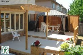 Large Pergola Designs by Large Low 2 Level Spa Deck Plan With A Pergola Benches