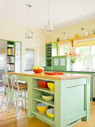 colorful kitchens ideas how to paint kitchen cabinets better homes gardens