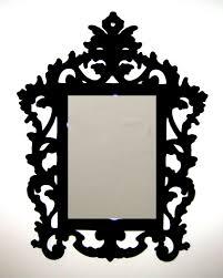 bathroom astounding baroque mirror with unique frame for bathroom