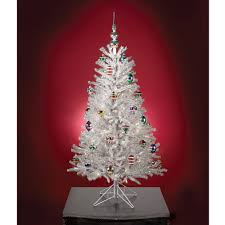 the classic silver tinsel tree hammacher schlemmer