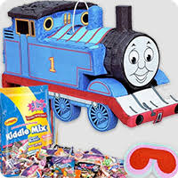 Thomas The Train Table And Chair Set Thomas The Tank Engine Party Supplies Birthday In A Box