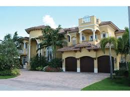 House Plans Mediterranean Style Homes Cocoa Beach Mediterranean Home Mediterranean Stucco Home With Clay