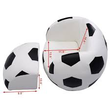 kids sofa couch football shaped kids sofa couch with ottoman sofas furniture