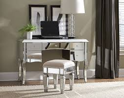 vanity desk with mirror target glass top glass wall panel double