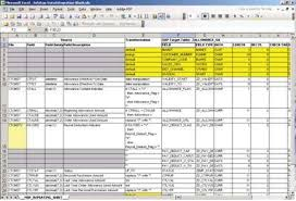 Data Mapping Excel Template Mapping Analyst For Excel In Informatica 8 6 Obia
