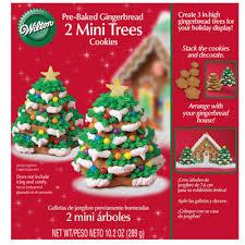 mini gingerbread tree