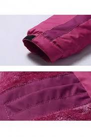 Womens Waterproof Windproof Snow Fleece Jacket Ski Outdoorwear