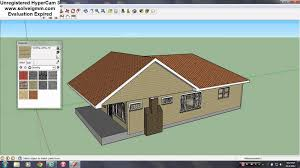 Home Design Software Google Sketchup Sketchup Roof Tutorial Youtube
