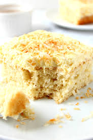 coconut pineapple cake recipe crunchy creamy sweet