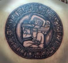 mayan tattoos combine tribal spirituality with