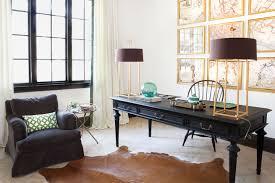 Black Home Office Desks Gold And Black Office Design Ideas