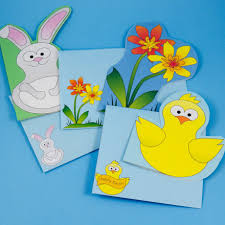 Decorated Envelopes Bunny And Flower Envelope Patterns Fun Shaped Cards For