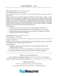 resume exles for executives ceo executive resume sle professional resume exles topresume