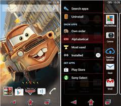 thema apk xperia cars tow maters theme apk tech updates tow