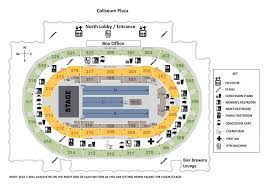 Pepsi Center Seating Map Seating Maps Indiana State Fair