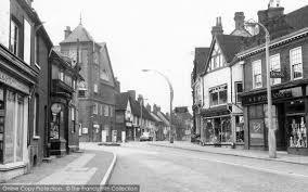 Baldock Blinds Baldock White Horse Street C 1955 Francis Frith