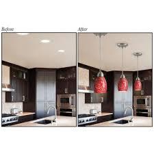 lowes kitchen pendant lights recessed lighting pendant converter kit tequestadrum com