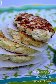 cuisiner le basilic galettes de poulet au basilic et piment d espelette amandine cooking