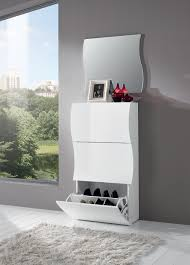 Chevet Design Blanc Laque by