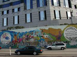 roadside attractions a look at the los angeles marathon murals there s also a
