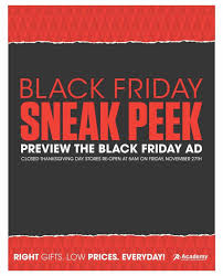 academy sports outdoors black friday ad and academy black