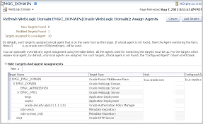 discovering middleware targets 12c release 2 12 1 0 2