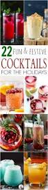 22 fun cocktail recipes for the holidays