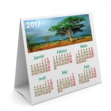 calendrier photo bureau calendrier de table 15 x 15