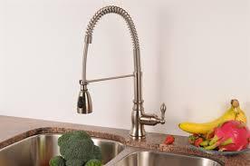 best pre rinse kitchen faucet entranching single handle pre rinse pull down kitchen faucet