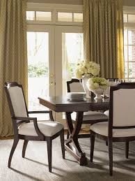 fascinating pedestal dining table with leaf gallery and