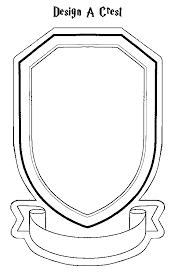 harry potter gryffindor badge coloring pages
