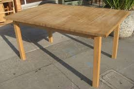 How To Make End Tables by Dining Tables Butcher Block Dining Table Set How To Make An End