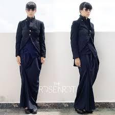 robe de chambre comme des garcons comme des garcons robe de chambre boiled polyester tuxedo cutaway