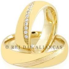 rei das aliancas par de alianças guarulhos alianças casamento e noivado em ouro