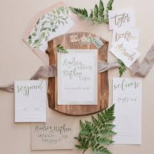 wedding invitations greenery greenery wedding invitation suite wedding invitations calgary