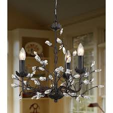 Antique Iron Chandeliers Brilliant Iron And Crystal Chandelier Design12141500 Wrought Iron
