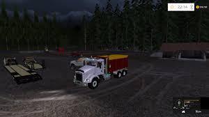 kenworth bed truck kenworth dump bed truck v2 farming simulator 2017 2015 15