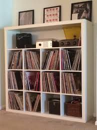 ikea expedit record storage hack around the house pinterest