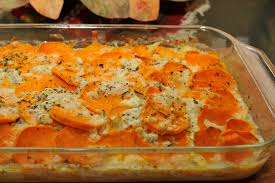 thanksgiving scalloped potatoes scalloped sweet potatoes a passionate plate