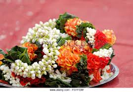 flowers garland hindu wedding indian wedding flower garland stock photos indian wedding flower