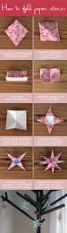how to fold paper stars these start with 12 by 12 paper so you