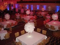 wedding centerpiece rentals nj great gatsby themed centerpiece rentals white ostrich feather